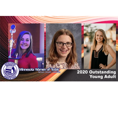 Winter State 2020: Outstanding Young Adult Honorees Ashley, Lindsey and Corinn