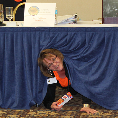 Winter State 2016: What is President Terri doing?