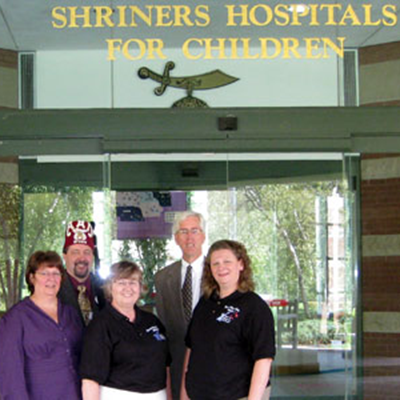 Buckets of Sunshine: Shriners Hospitals for Children