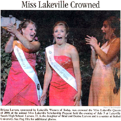 Miss Lakeville 2006
