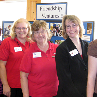 Fall State Project Fair Friendship Ventures Table