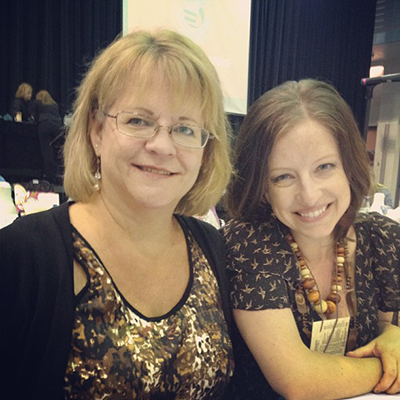 Terri and Tess at Annual 2012