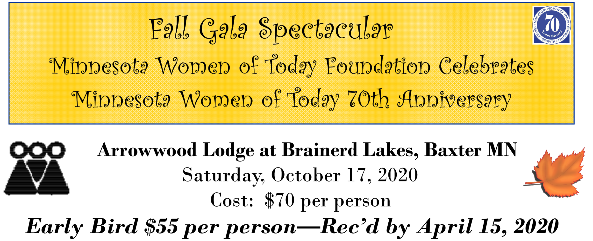 2020 MNWT Foundation Fall Gala Spectacular