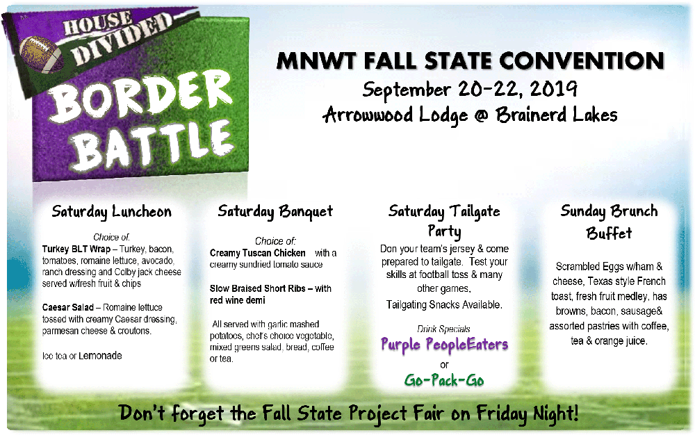 2019 MNWT Fall State Convention